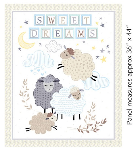 8001 Sweet Dreams 9010 by Benartex Fabrics1