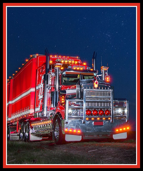 Big Rigs 8024 31 By Kennard Kennard 36 x 44