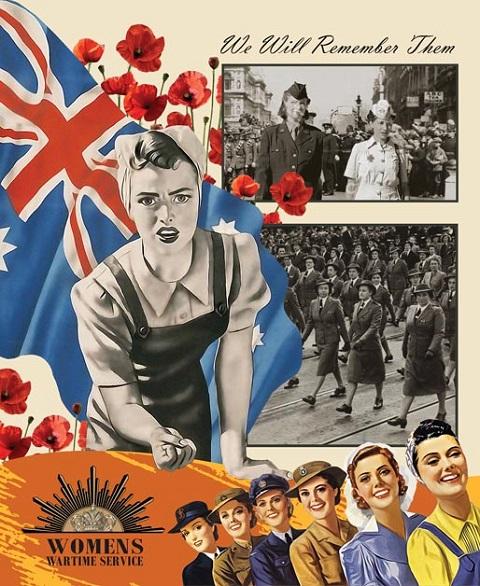 W1 Womens Wartime Service 7117
